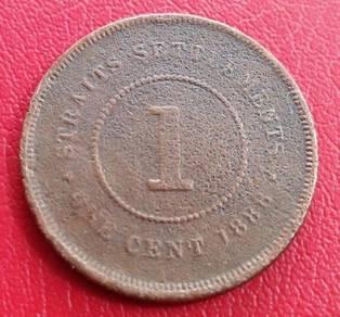 Straits Settlements 1 Cent 1888