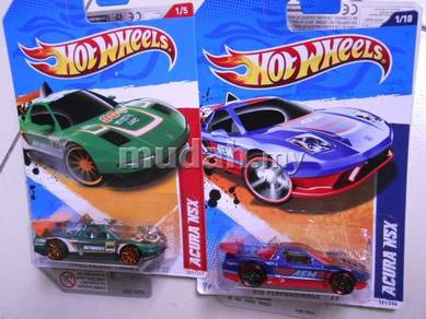 Hotwheels - Honda NSX twins