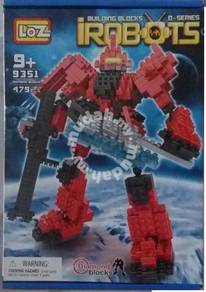 Nano brick - LoZ 9351 ZAKU II Gundam nano block