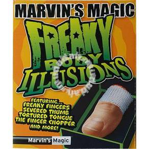 Freaky Body Parts Finger by Marvin's Magic