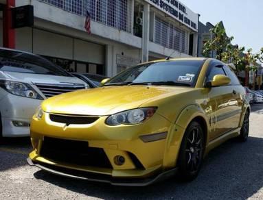 Proton Satria Neo CPS R3 front lip Bodykit