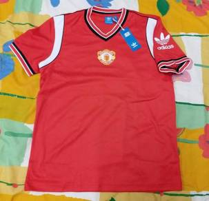 1985 Manchester United Adidas Jersey nike levis