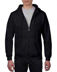 Gildan Heavy Blend Adult Zip Hooded Black