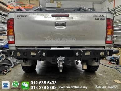 Toyota Hilux Revo 4X4 Rear Bumper Heavy Duty