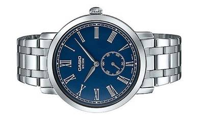Casio Men Stainless Steel Watch MTP-E150D-2BVDF