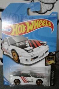 Hotwheels car Nissan 180sx Type X