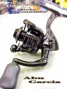 ABU GARCIA CATFISH COMMANDO (2K 3K) Fishing Reel