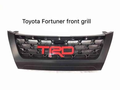 Toyota fortuner 2017 TRD grill grille sarung logo