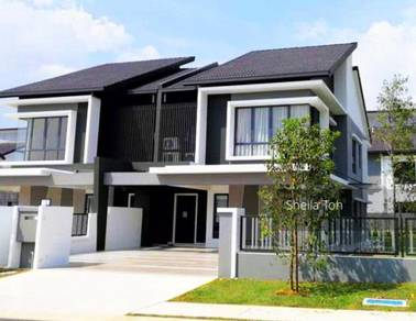 TERMURAH di SEREMBAN 2 [CASH BACK 89k REBATE 50%] Superlink House