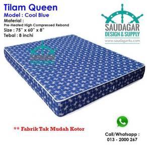 Tilam queen mattress murah tak mudah kotor
