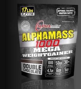 Alpha mass 17lbs