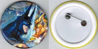 Batman Super Hero #4 Cartoon Button Badge 58mm