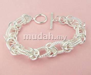 ABBS9-S004 Vogue Silver 925 Bracelet 205 x 11mm