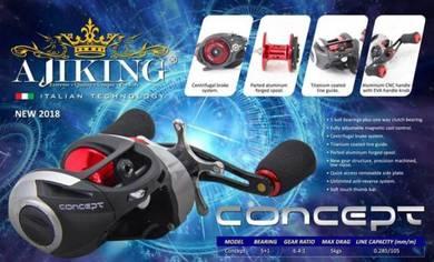 Aijiking Concept Fishing Reel Casting Pancing