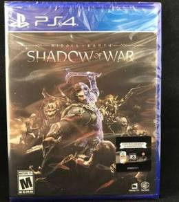 Middle Earth Shadow Of War - PS 4 Game