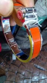 Lic clac gm men bracelet orange