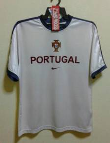 Rare jersey PORTUGAL TRAINING era luis figo