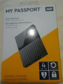 4TB Portable External