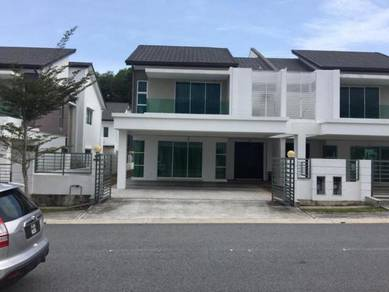 PARTLY FURNISHED EUGENIA 2 Double Storey Semi D in Bukit Banyan