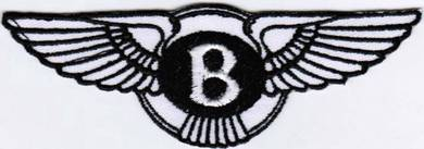 Bentley Rally Car Automotive Racing Patch Badge