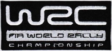 WRC World Rally Championship Car Racing Patch