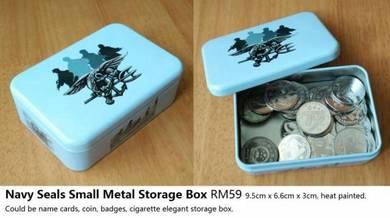 Navy Seals Windstalkers Small Metal Storage Box