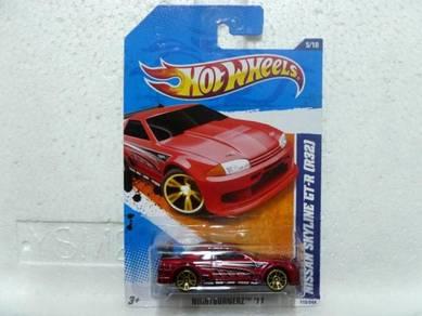 Hotwheels 2011 Nissan Skyline GT-R R32 Red