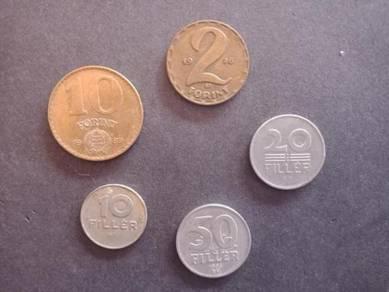 Duit Coin Lama HUNGARY C No 98