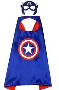 Captain america cape halloween costume cosplay 1