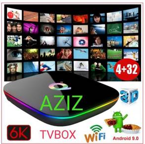 UHD fuly LOADED PRO 4K android tv box complet free