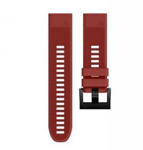 Garmin Fenix 5 & 5X - Red QuickFit OEM Watch Band
