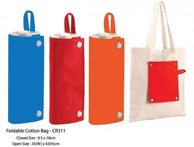 Foldable Cotton Bag CR311