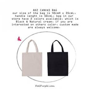 Wholesale of Plain Tote Bag