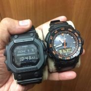 Casio Protrek PRG 550 + GShock King GX56 BB-1