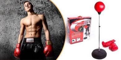 Punching ball stand boxing set