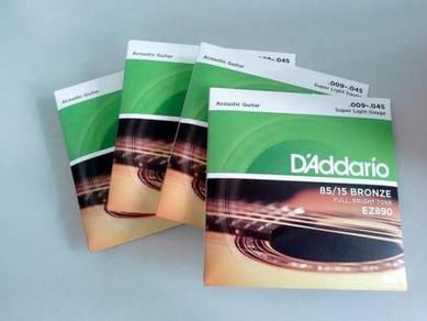 D'Addario 009-045 Acoustic Guitar String - EZ890