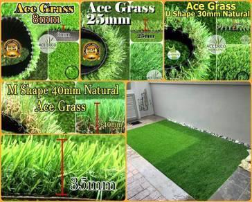 Artificial Grass Serat U/M Rumput Tiruan Carpet 19