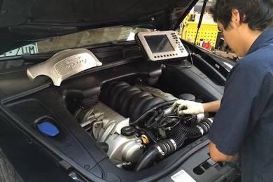 Porsche engine diagnostic repair rebuilt set