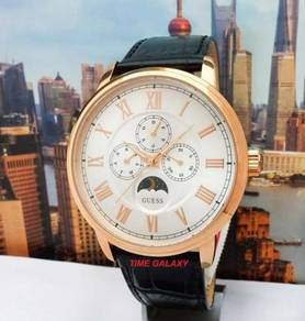 GUESS W0870G2 Delancy Rosegold Silver Dial Watch