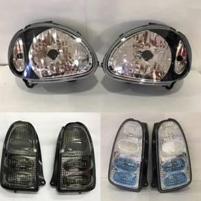 Perodua Kelisa Head Lamp Tail Lamp Albino