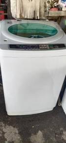 Mesin basuh terpakai sanyo auto 14.0 kg