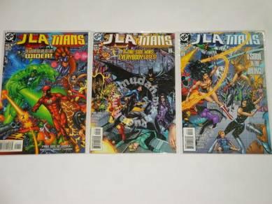 JLA TITANS. 1998. complete set