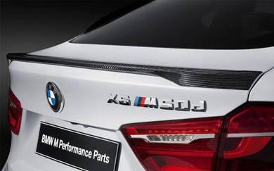 BMW F16 X6 Carbon Fiber M Performance Spoiler