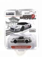 Jada Toys 2002 Acura NSX Type R Candy Silver 1:64