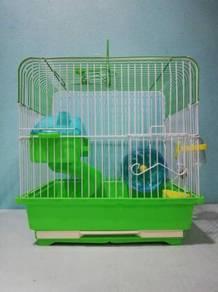 065 Sangkar Hamster Cage 31cm x 30cm x 22cm