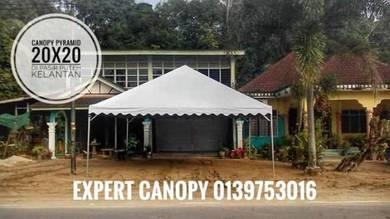 Canopy pyramid 20x20 new set Molek