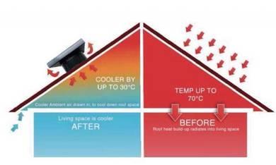 Solar Ventilator BANDAR UTAMA SUNWAY & SUBANG JAYA