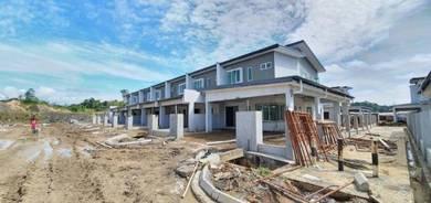 New large 2 stotey terrace corner at batu kawa