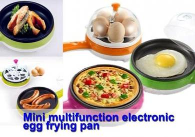 Multifunctional electronic egg frying pan