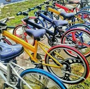 Basikal lajak saya nak beli